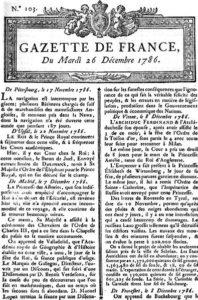 Prix Renaudot - La Gazette