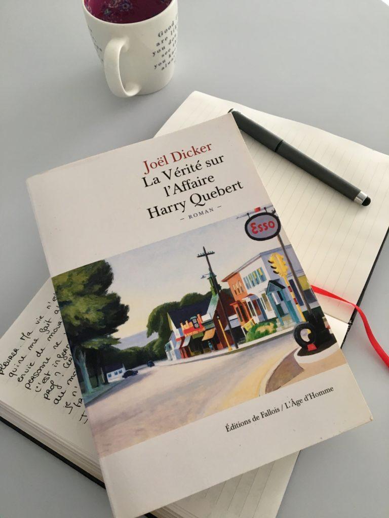 la verite sur l'affaire harry quebert : livre joel dicker