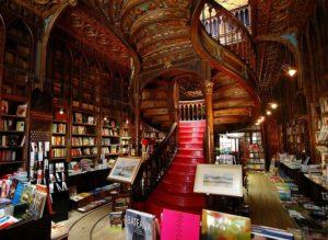 librairie Lello Harry Potter Porto