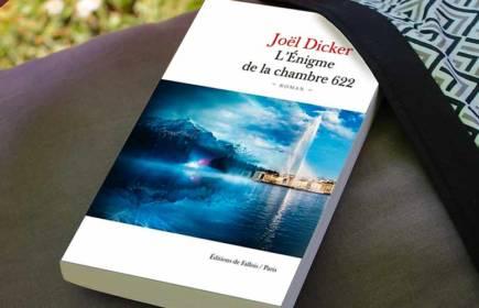 Nouveau roman roman Joël Dicker - Enigme de la chambre 622