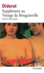 Supplément au voyage de Bougainville - livre voyage
