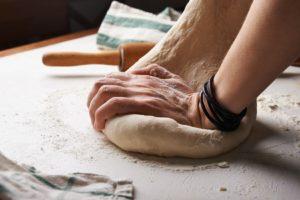 pétrissage pain maison