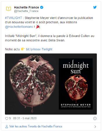livre midnight sun
