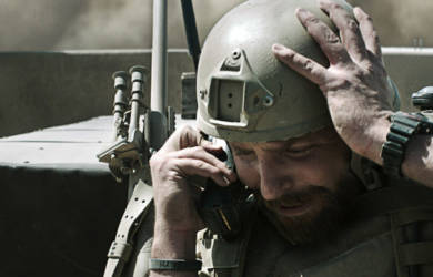 Chris Kyle dans American Sniper - Eastwood, Nury et Brüno