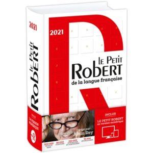 Le Petit Robert 2021 : nouveau mot dictionnaire