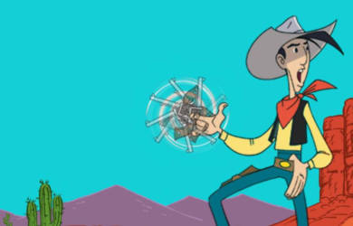 Parution npuvelle BD Lucky Luke