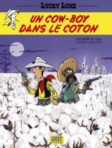 Nouvelle BD Lucky Luke - Un cow-boy dans le coton