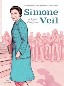 Simone Veil ou la force d'une femme bd nouveautés