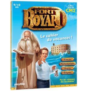 Meilleur cahier de vacances Fort Boyard