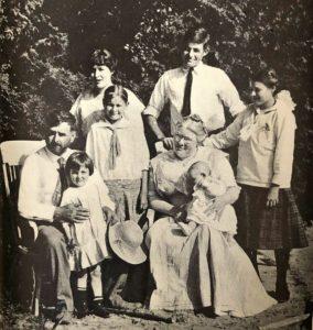 La famille d'Ernest Hemingway en 1915