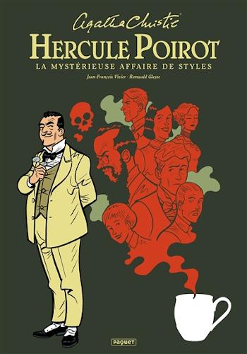 roman graphique Hercule Poirot de Jean-François Vivier