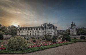 Livre cyclotourisme - château de Chenonceaux