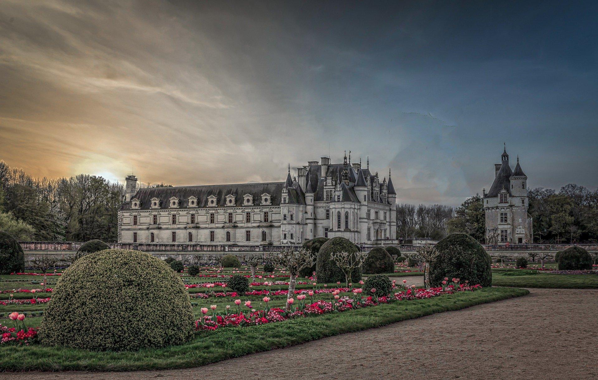 meilleur itineraire velo : château de Chenonceaux