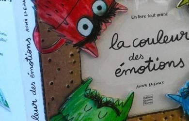 La couleur des émotions livre pour enfants