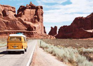 Un road trip en van aux usa