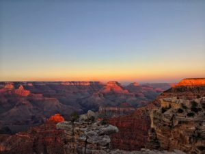 Grand Canyon - road trip van usa