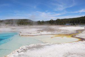 Voyager en van à Yellowstone