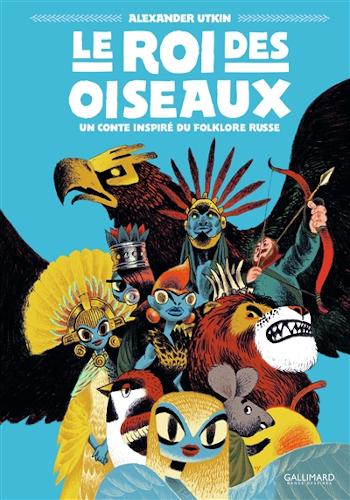 Le roi des oiseaux : une BD d'Alexander Utkin