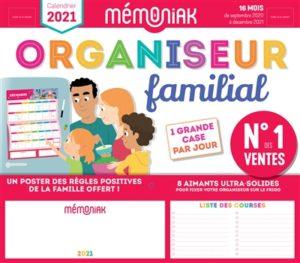 Organiseur familial Memoniak 2020