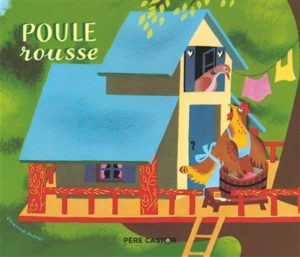 Poule rousse : livre histoire enfants