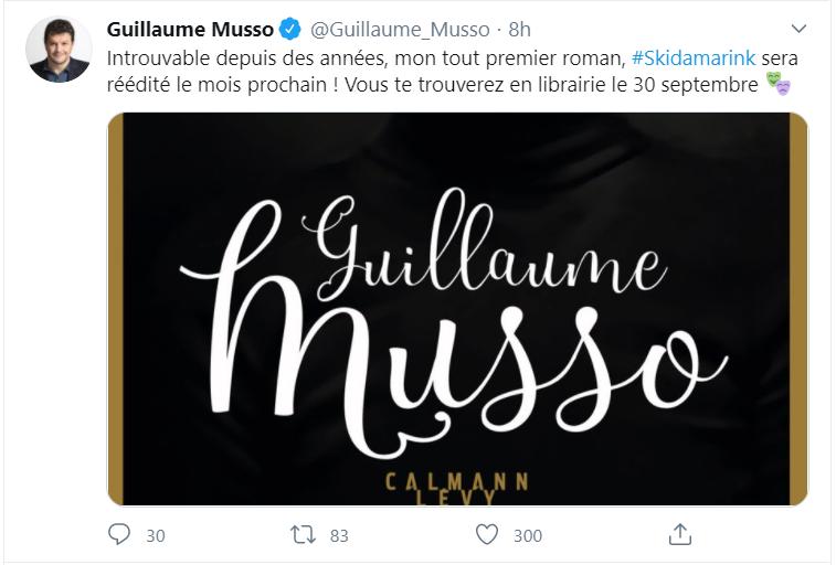 Skidamarink : le nouveau live de Musso