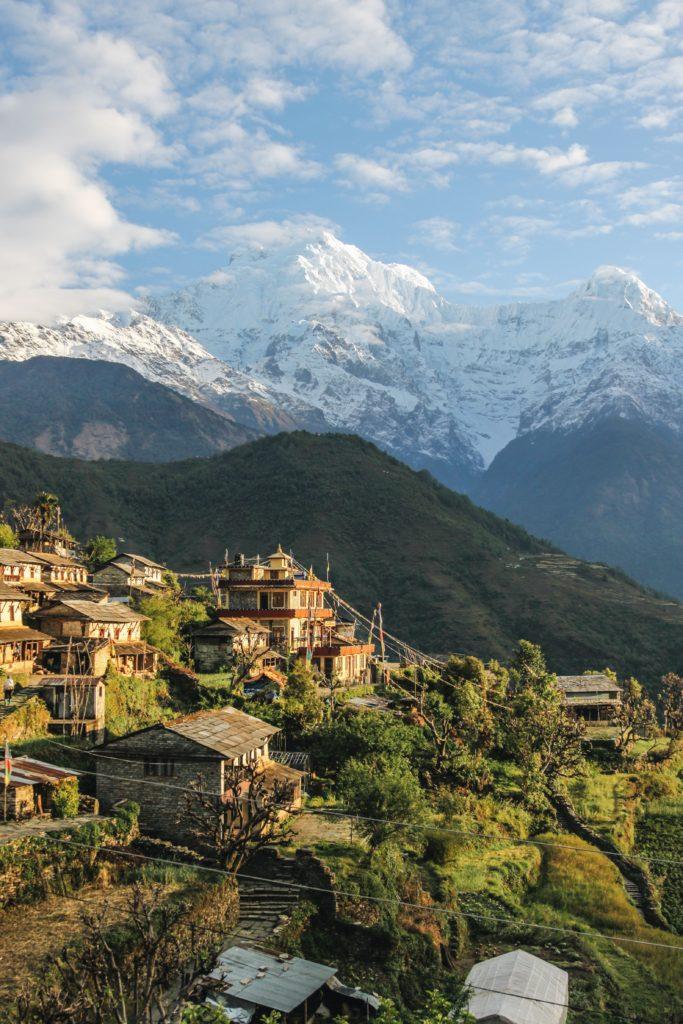 Trois fois au bout du monde : Népal - Catherine Cusset