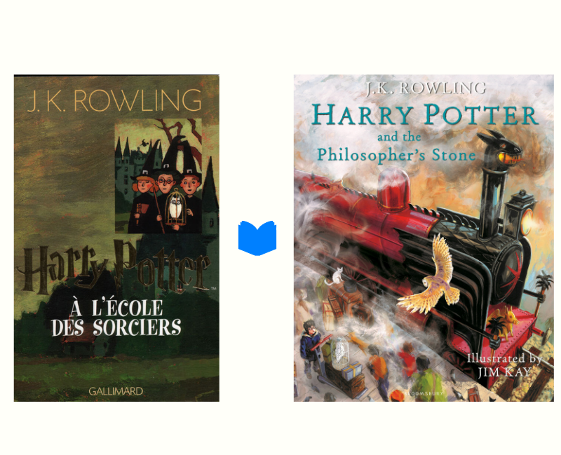 couverture Harry Potter livres
