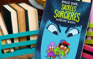 Sacrées sorcières : un roman de Roald Dahl adapté par Pénélope Bagieu