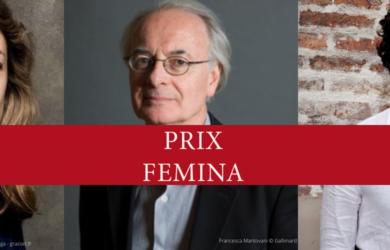 Les sélections du prix Fémina 2020