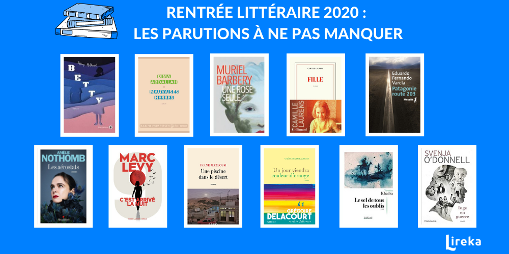 rentrée littéraire 2020