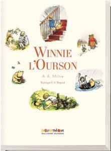 Winnie l'ourson : histoire d'un ours comme ça - livre peluche