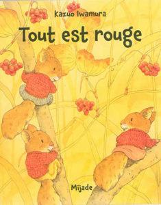 livre automne maternelle : tout est rouge