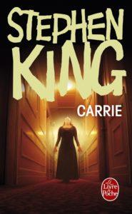 Carrie de Stephen King : livre horreur