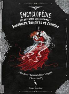 Encyclopédie des revenants et des non-morts : un livre Halloween