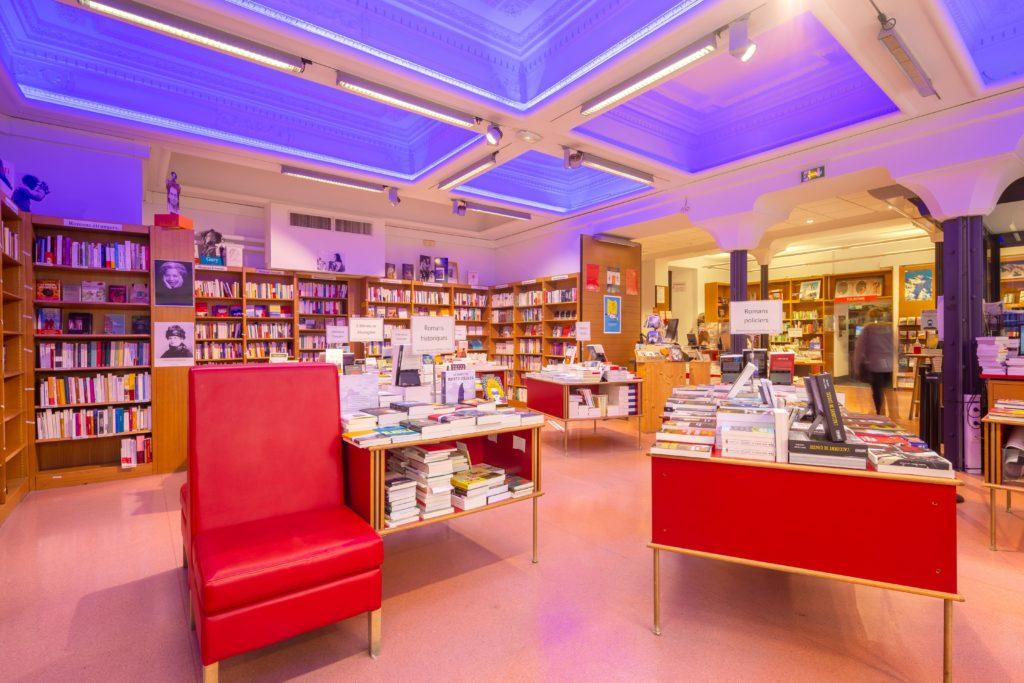 Intérieur librairie Arthaud