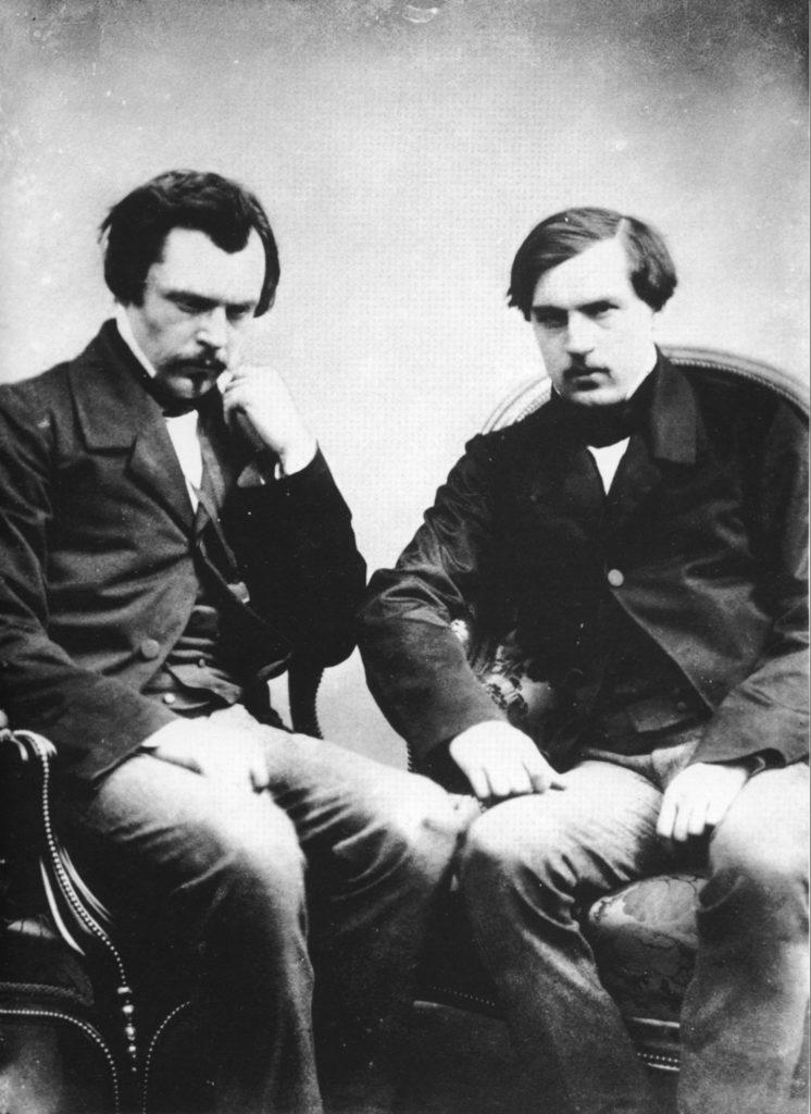 Histoire du prix Goncourt : Jules et Edmond de Goncourt