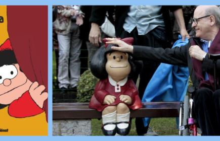 Mort de Quino : papa de Mafalda bd