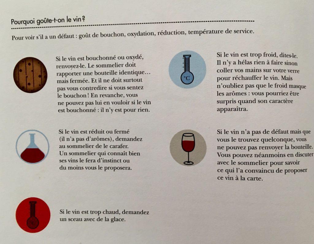 Pourquoi faut-il goûter le vin ?