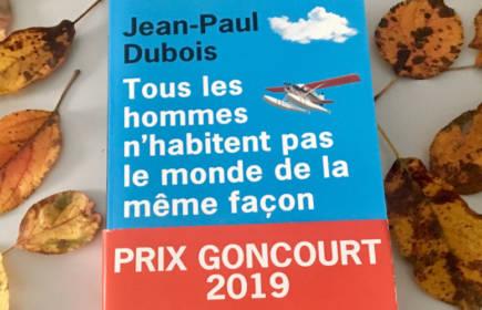 Le prix Goncourt 2019, l'auteur Jean-Paul Dubois