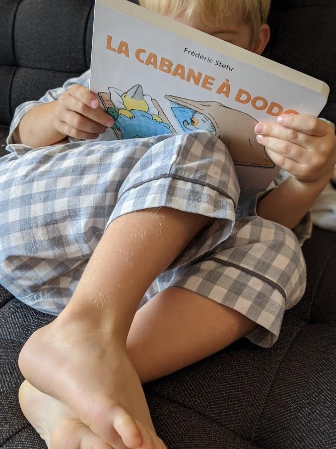 La cabane à dodo : livre activité d'enfants