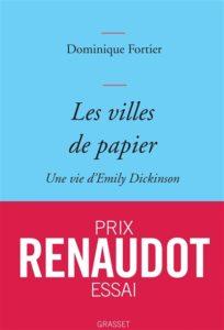 Les villes de papier de Dominique Fortier : prix Renaudot essai 2020