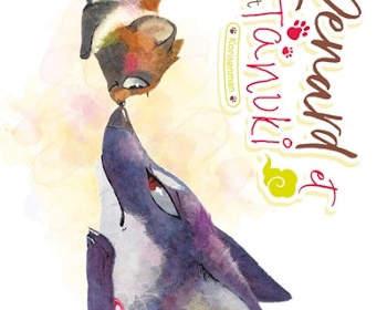Le renard et le petit Tanuji de Mi Kitagawa : manga enfants