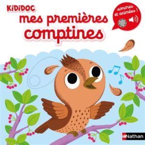 Mes premières comptines : livre activité d'enfants