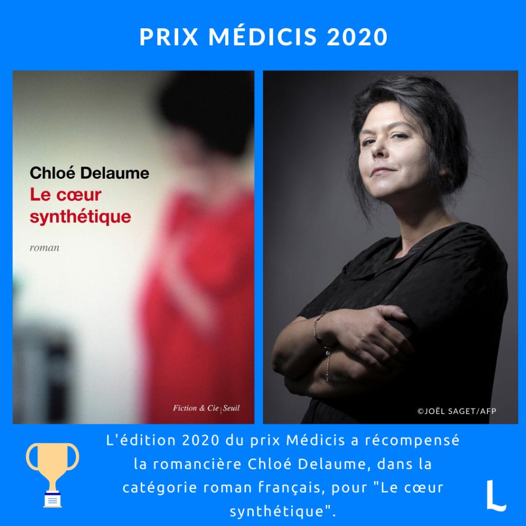 Le cœur synthétique de Chloé Delaume : prix Medicis 2020