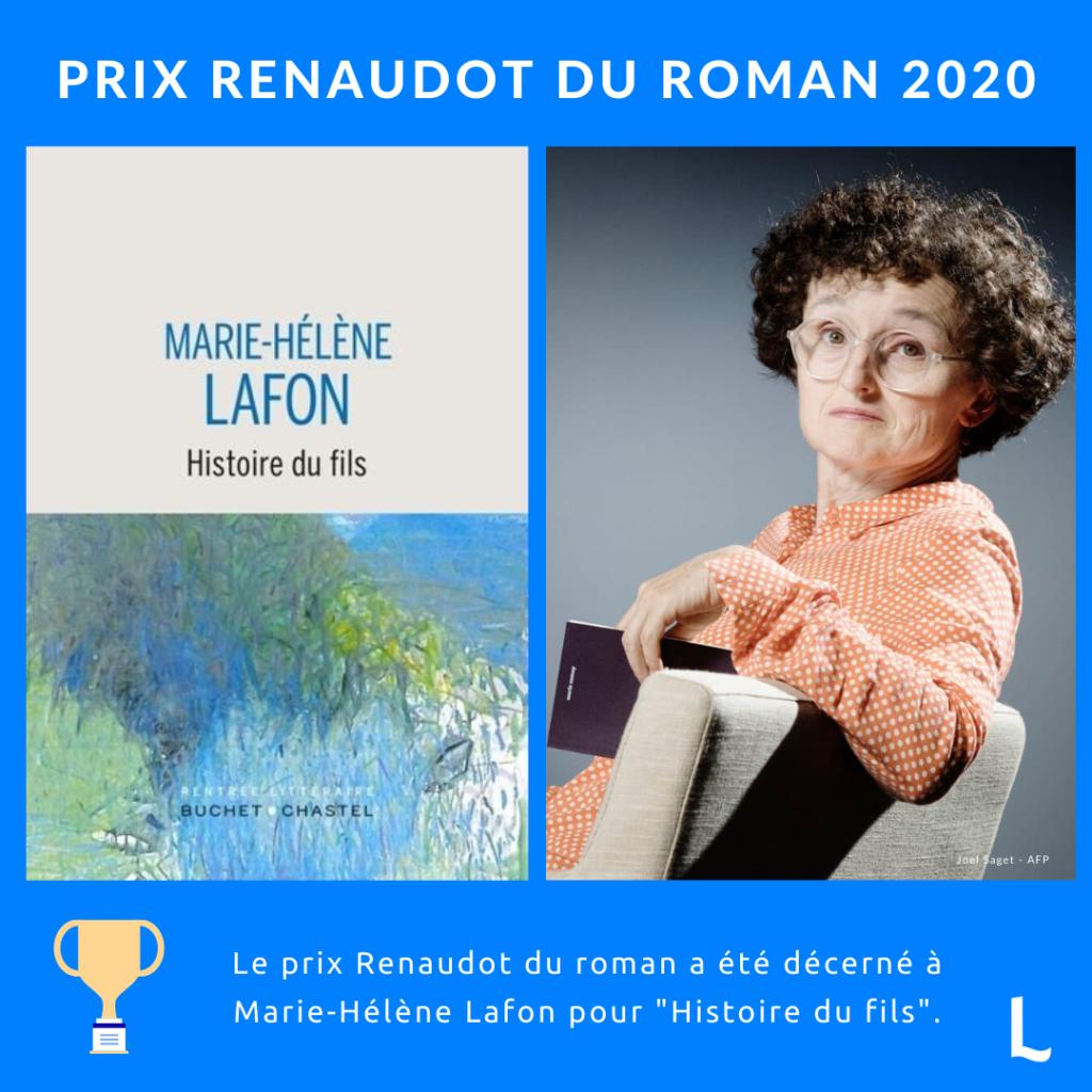 Prix Renaudot 2020 : Histoire du fils de Marie-Hélène Lafon