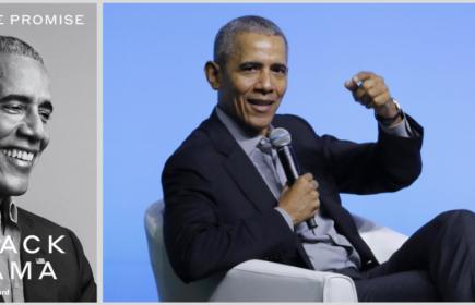 Barack Obama revient en librairie avec un nouveau livre