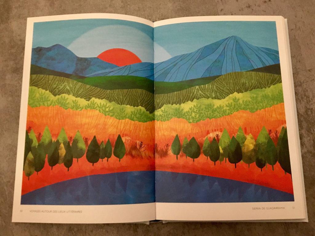 Voyages autour des lieux littéraires - Livre voyage
