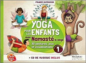 Yoga pour les enfants avec Namasté le singe : histoire audio enfants