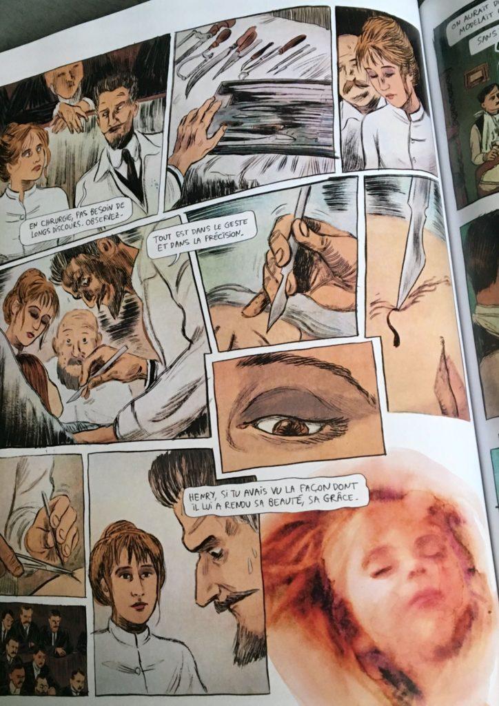 Suzanne Noel dans A mains nues : Leila Slimani bd