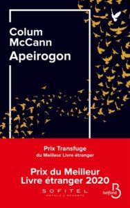 Apeirogon de Colum McCann : meilleur livre 2020